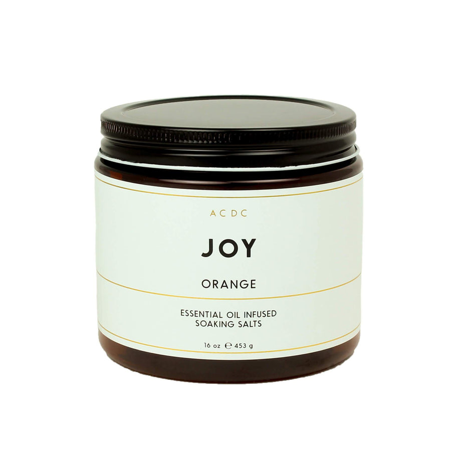 Joy Orange Essential Oil Bath Soaking Salts - ACDC Co