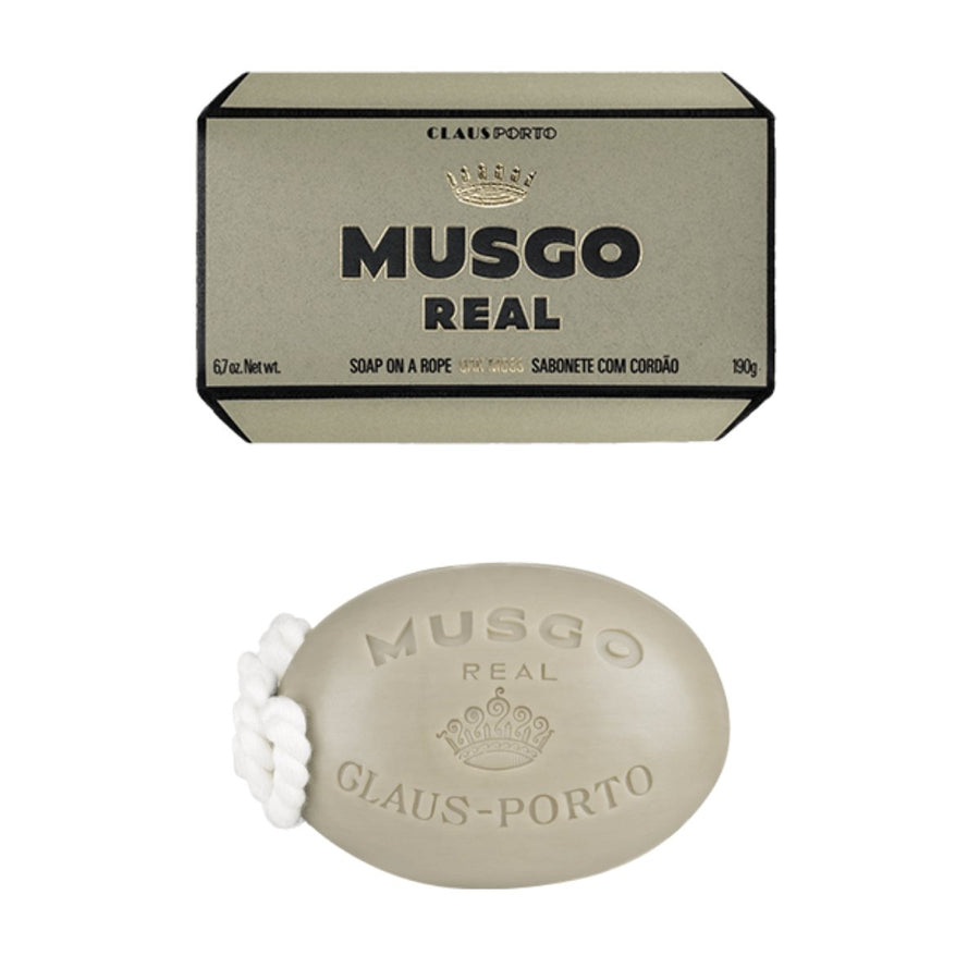 Musgo Real Oak Moss Soap on a Rope - ACDC Co