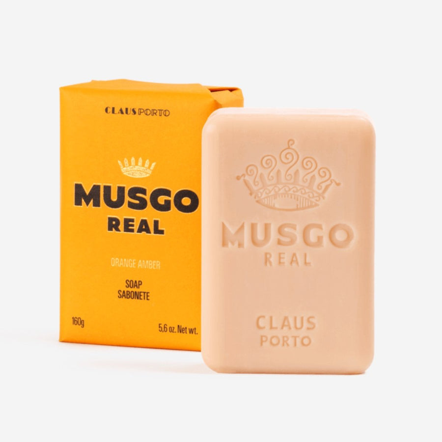 Musgo Real Orange Amber Soap Bar - ACDC Co