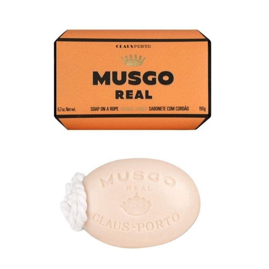 Musgo Real Orange Amber Soap on a Rope - ACDC Co