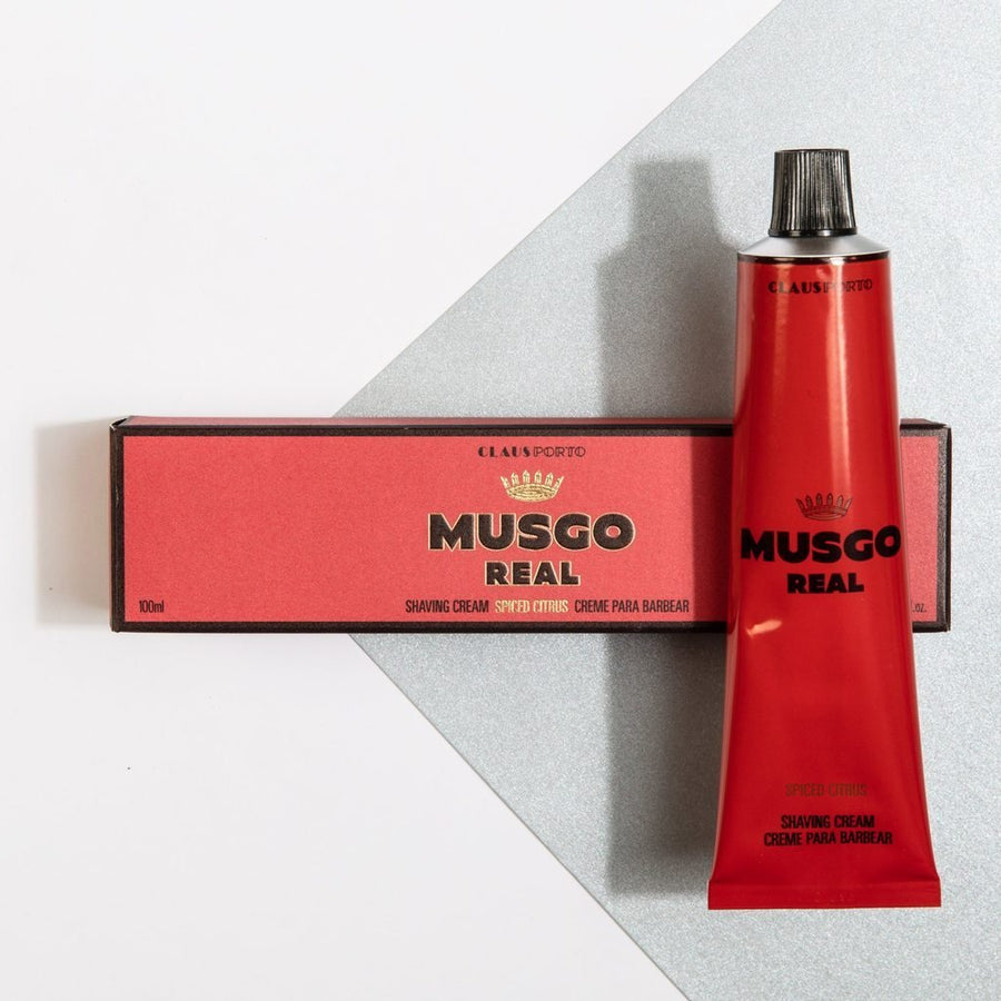 Musgo Real Spiced Citrus Shaving Cream - ACDC Co