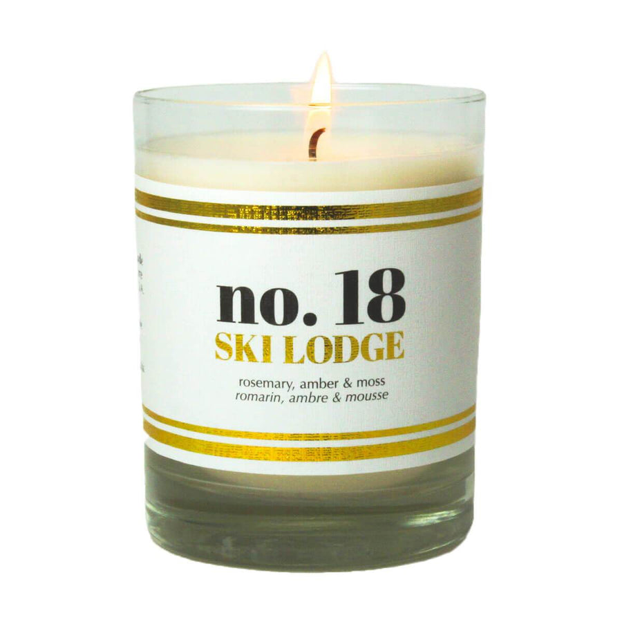 No. 18 Ski Lodge Scented Soy Candle - A C D C