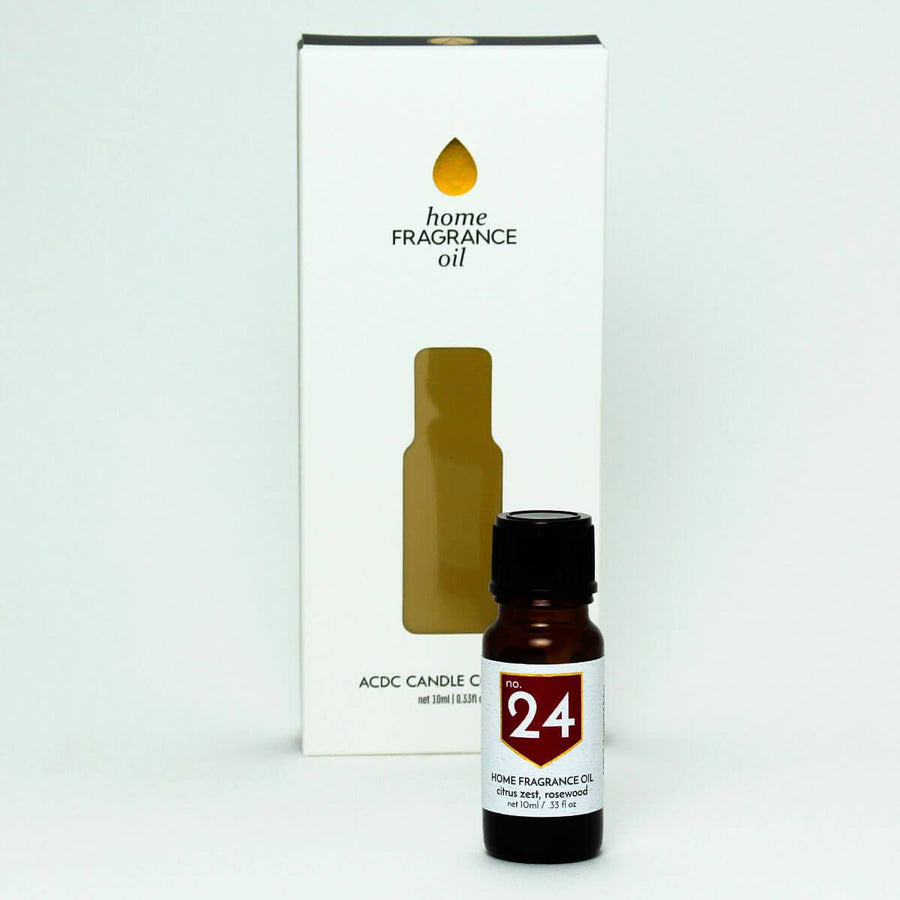 No. 24 Citrus Rosewood Home Fragrance Diffuser Oil - A C D C