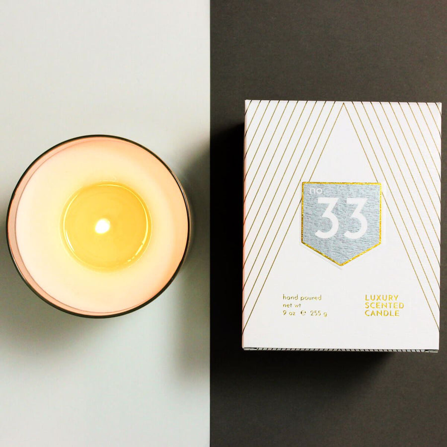 No. 33 Vetiver Cedar Scented Soy Candle - ACDC Co
