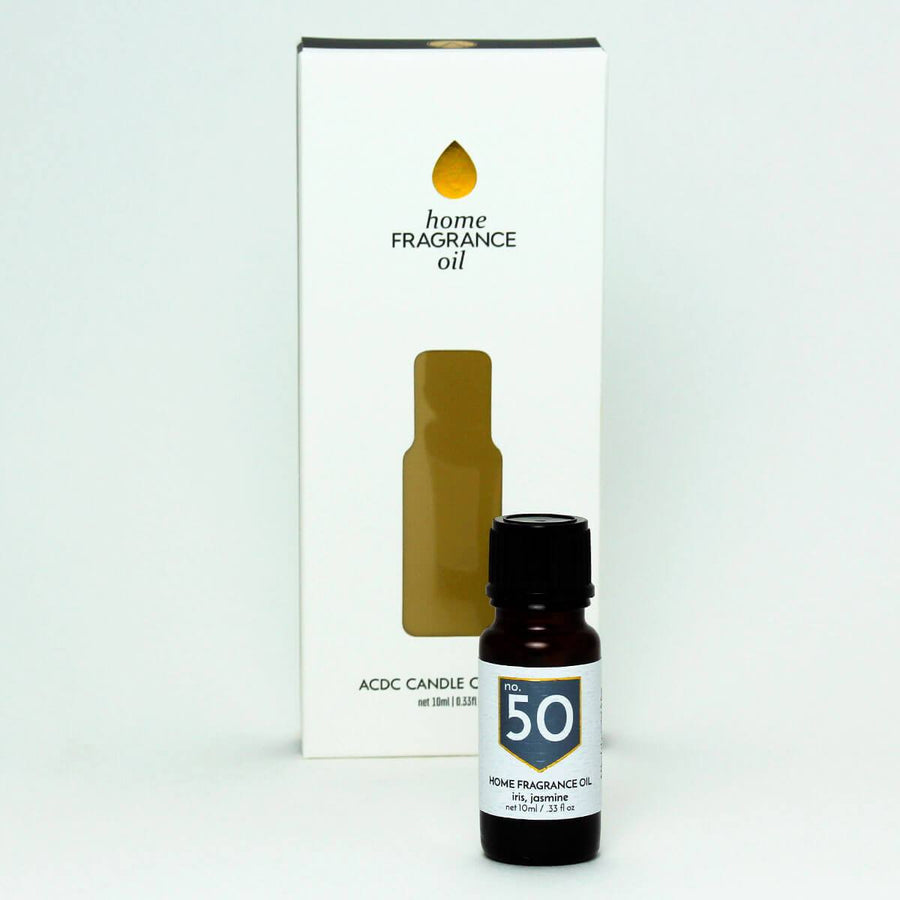 No. 50 Iris Jasmine Home Fragrance Diffuser Oil - ACDC Co