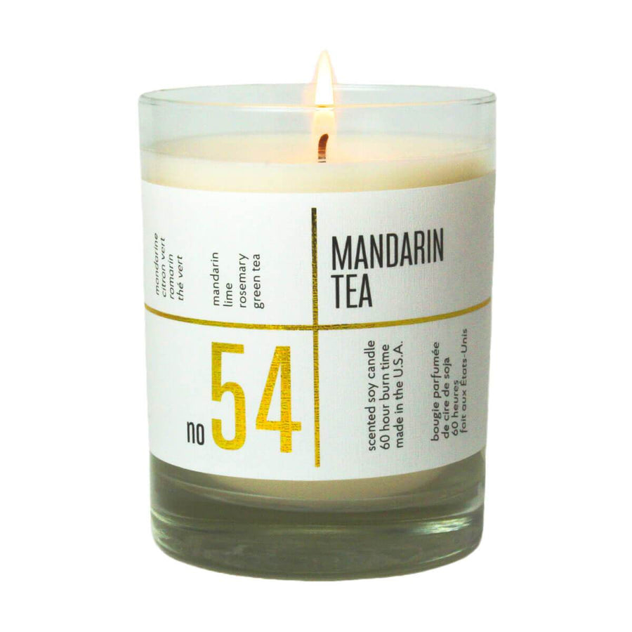 No. 54 Mandarin Tea Scented Soy Candle - A C D C