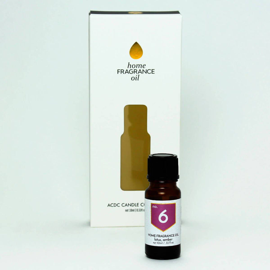 No. 6 Lotus Amber Home Diffuser Fragrance Oil - ACDC Co