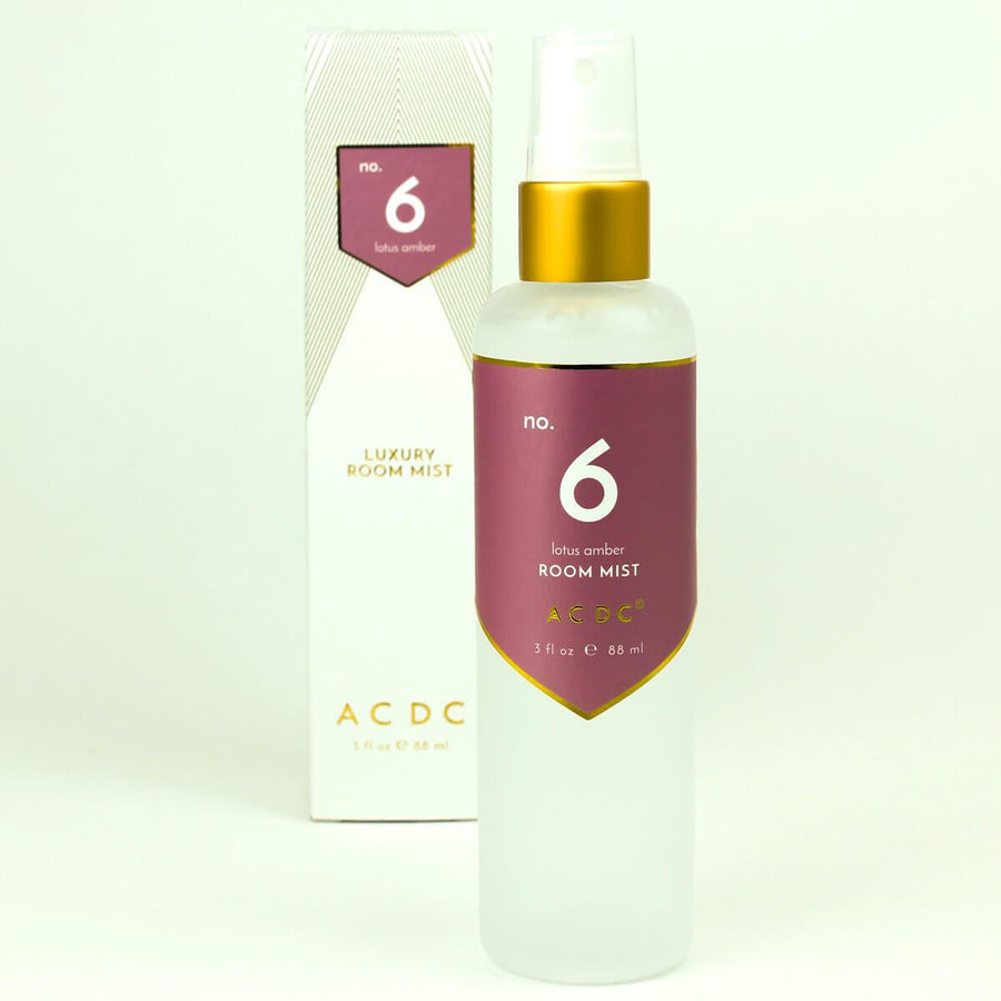 No. 6 Lotus Amber Room Mist - A C D C