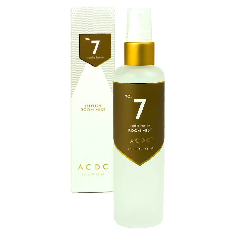 No. 7 Vanilla Leather Room Mist - A C D C
