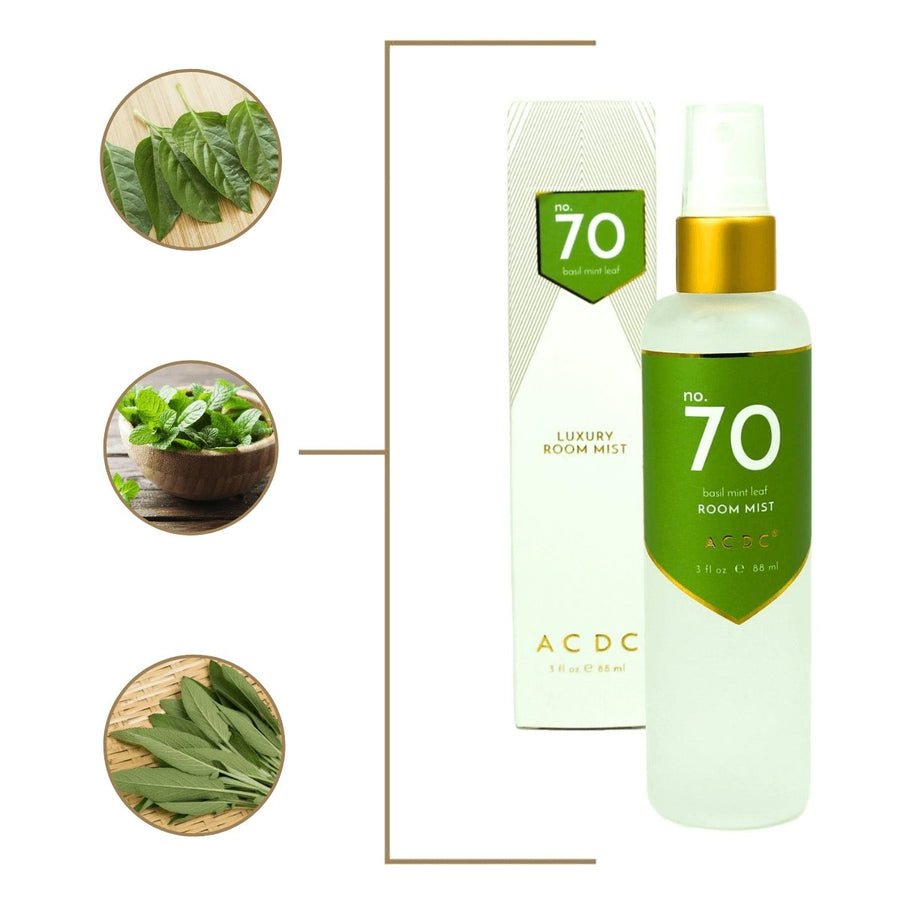 No. 70 Basil Mint Room Mist - A C D C