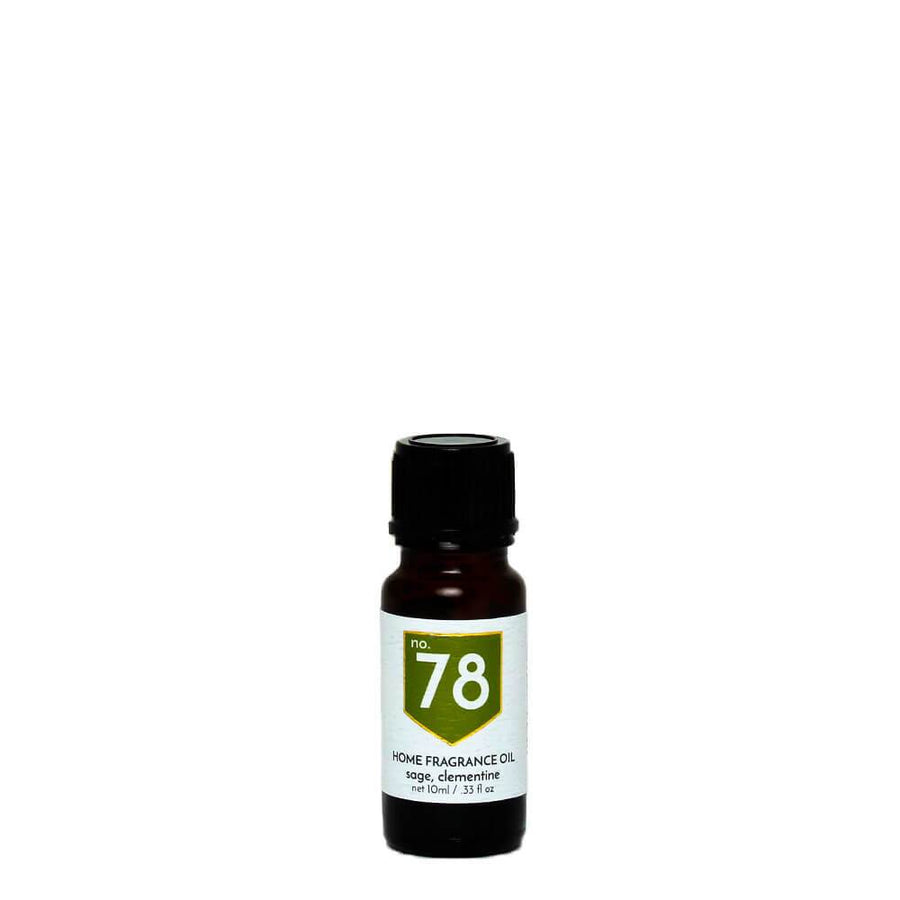 No. 78 Sage Clementine Home Fragrance Diffuser Oil - A C D C