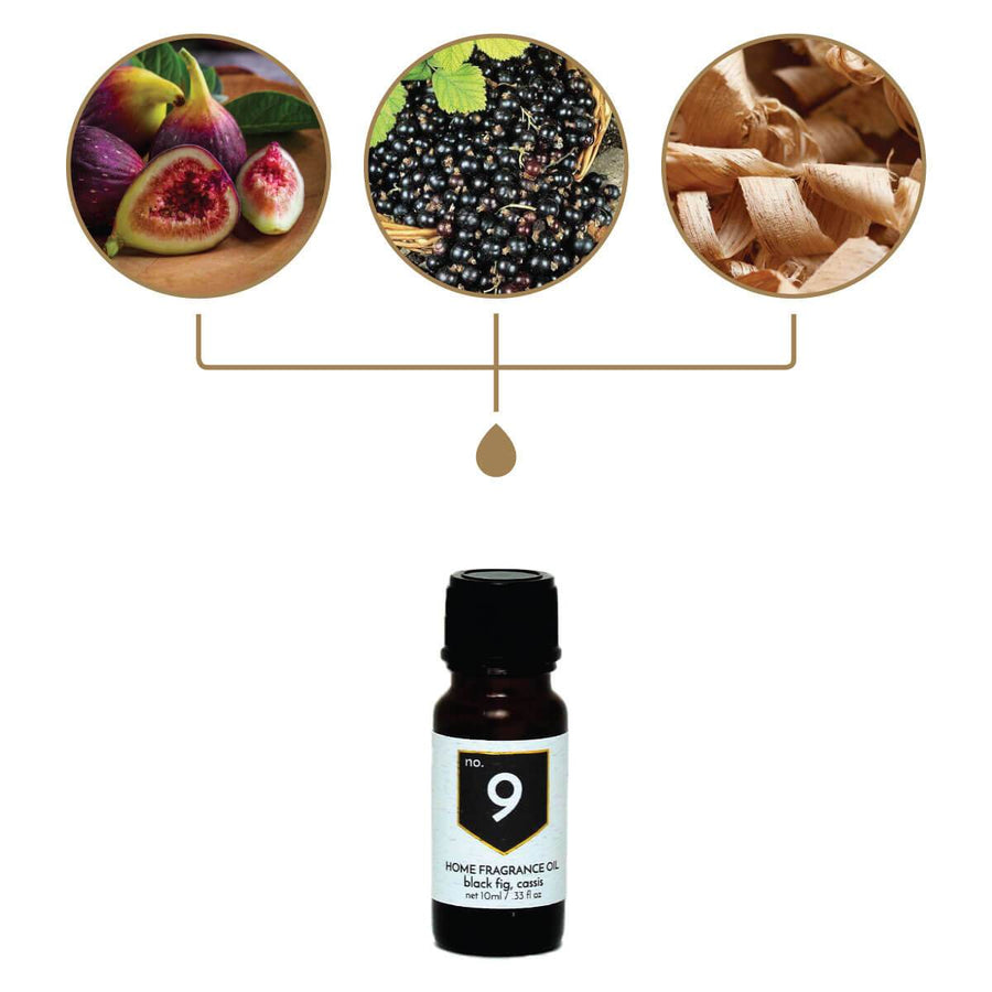 No. 9 Black Fig Cassis Home Fragrance Diffuser Oil - A C D C
