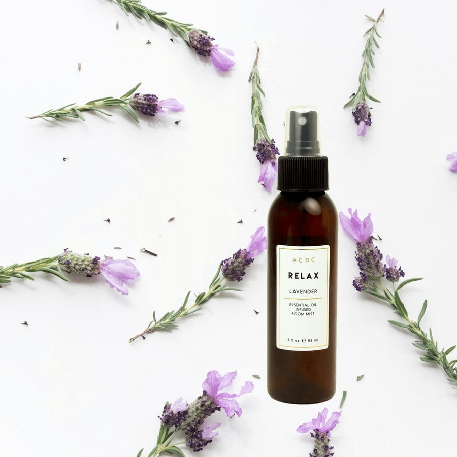 Relax Lavender Essential Oil Room Mist - A C D C