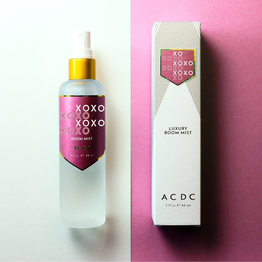 XOXO Love and Kisses Room Mist - ACDC Co