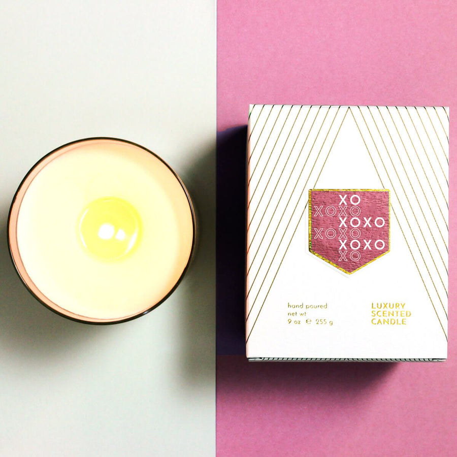 XOXO Love and Kisses Scented Soy Candle - ACDC Co