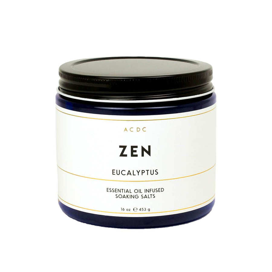 Zen Eucalyptus Essential Oil Bath Soaking Salts - ACDC Co