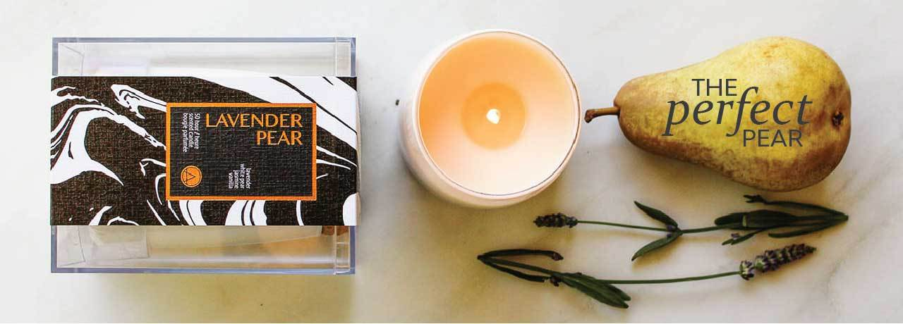 Gifts Lilies and Linen Scented Soy Candles