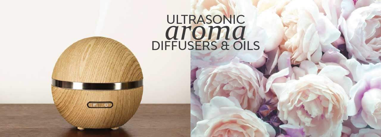 Electric Ultrasonic Aromatherapy Diffusers and Home Fragrance Oils Scented Gift Ideas
