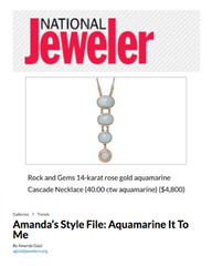 Sig Ward Jewelry in National Jeweler - March 2018