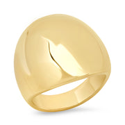 14K YG Gold Dome Ring