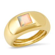 14K YG Opal Gypsy Ring