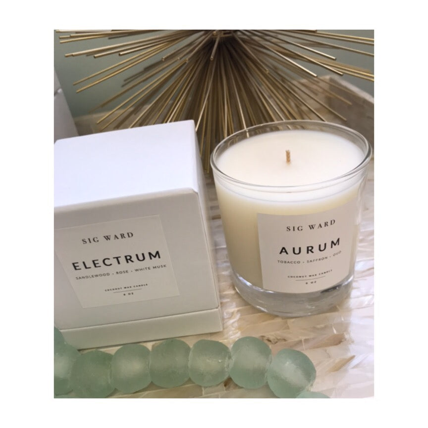 Electrum Luxury Candle