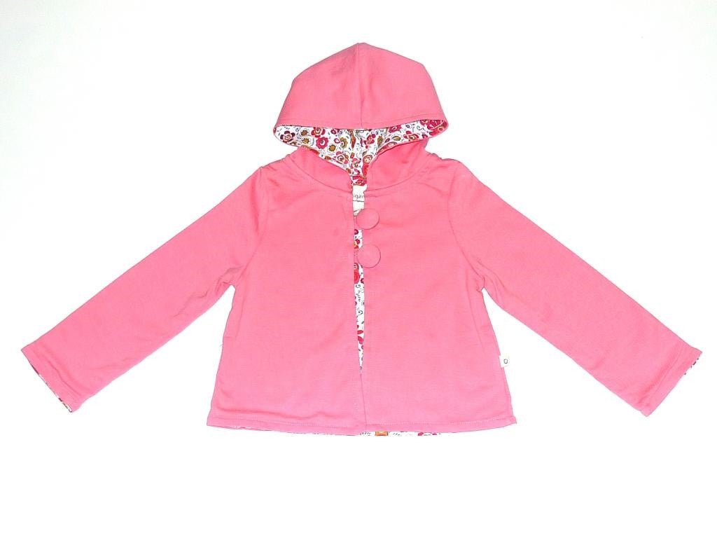 Organic Girls' Play Time Hoodie -
