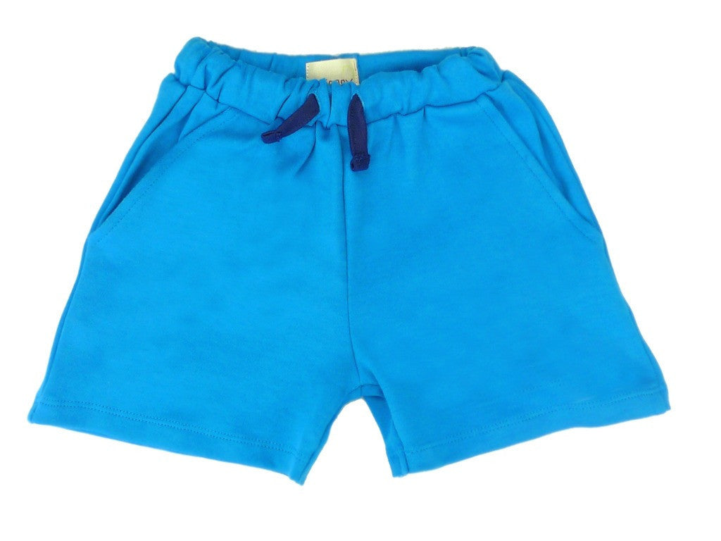 Organic Blue Boys Shorts -