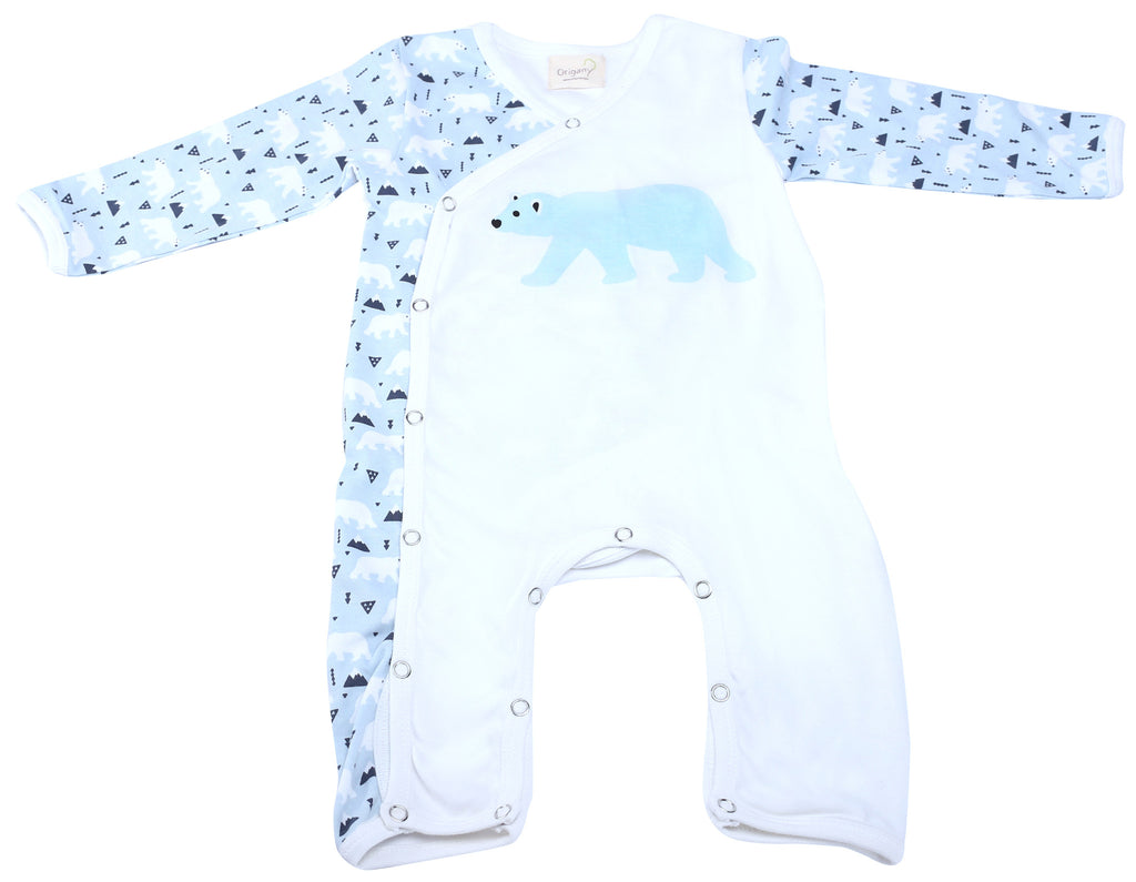 Polar Bear Baby Boys Romper