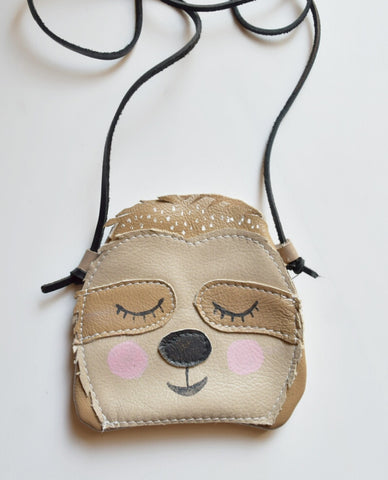 Sia the Sloth -- Child's Play Satchel