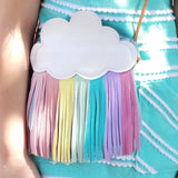 Rainbow Fringe Children's Satchel