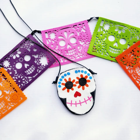 Coco Sugar Skull || Child's Play Satchel