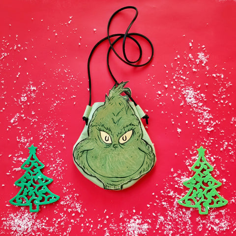 Grinch || Holiday Child's Play Satchel
