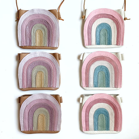 Retro Rainbow Satchel