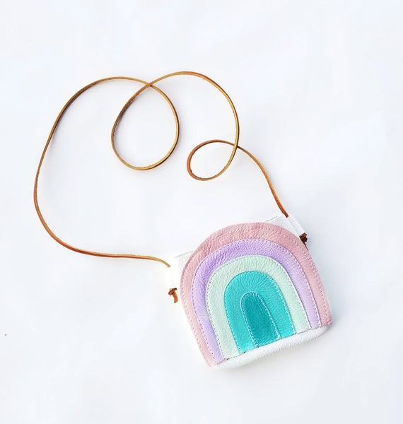RTS Pastel Retro Rainbow Satchel