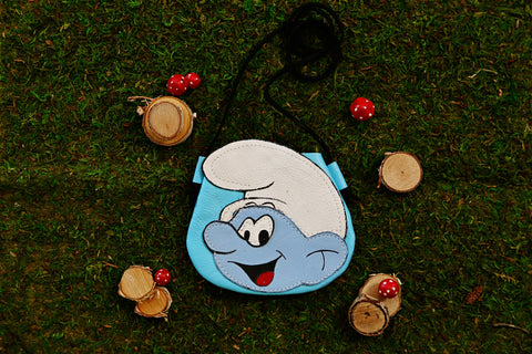 SMURF SATCHEL || I ❤ THE 80'S COLLECTION