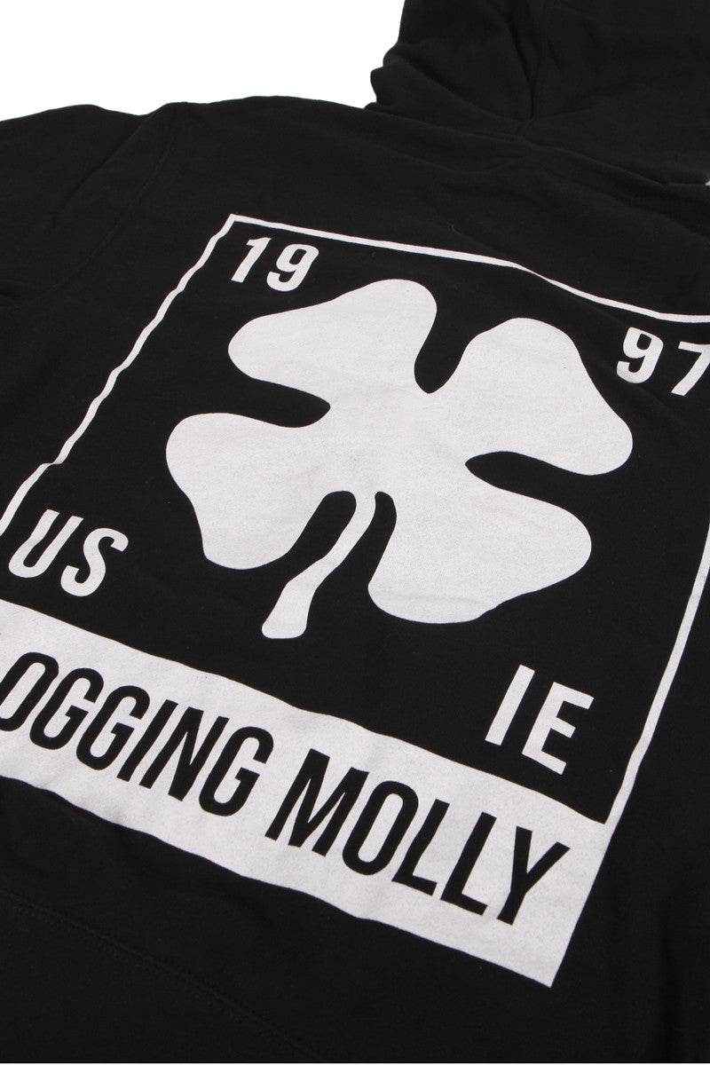 Flogging Molly Boxed Zip Hoodie Black