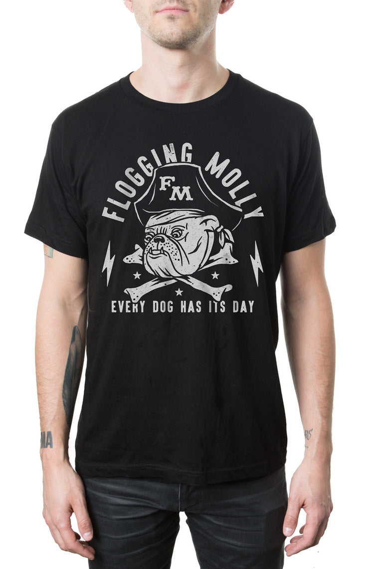 Flogging Molly Bulldog Tee Black