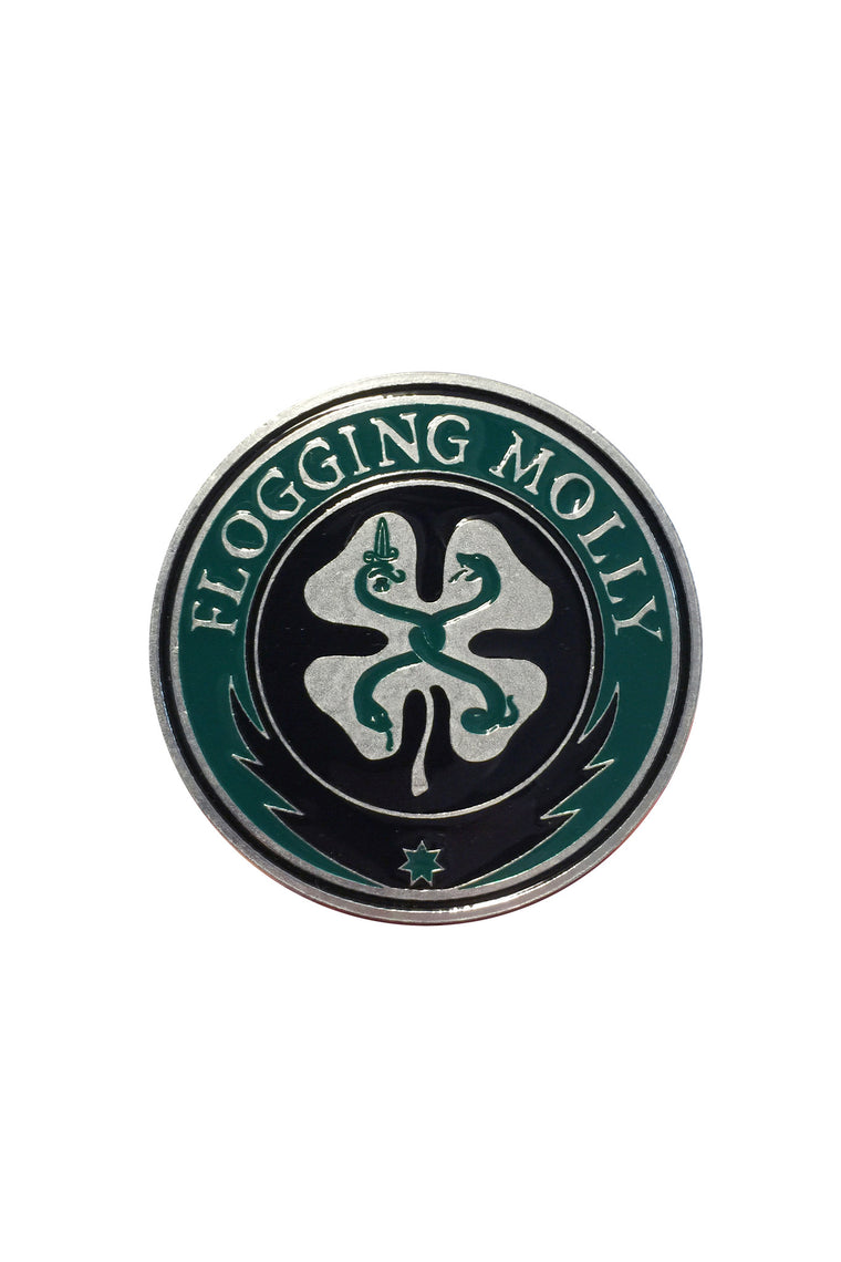 Flogging Molly Classic Logo Belt Buckle