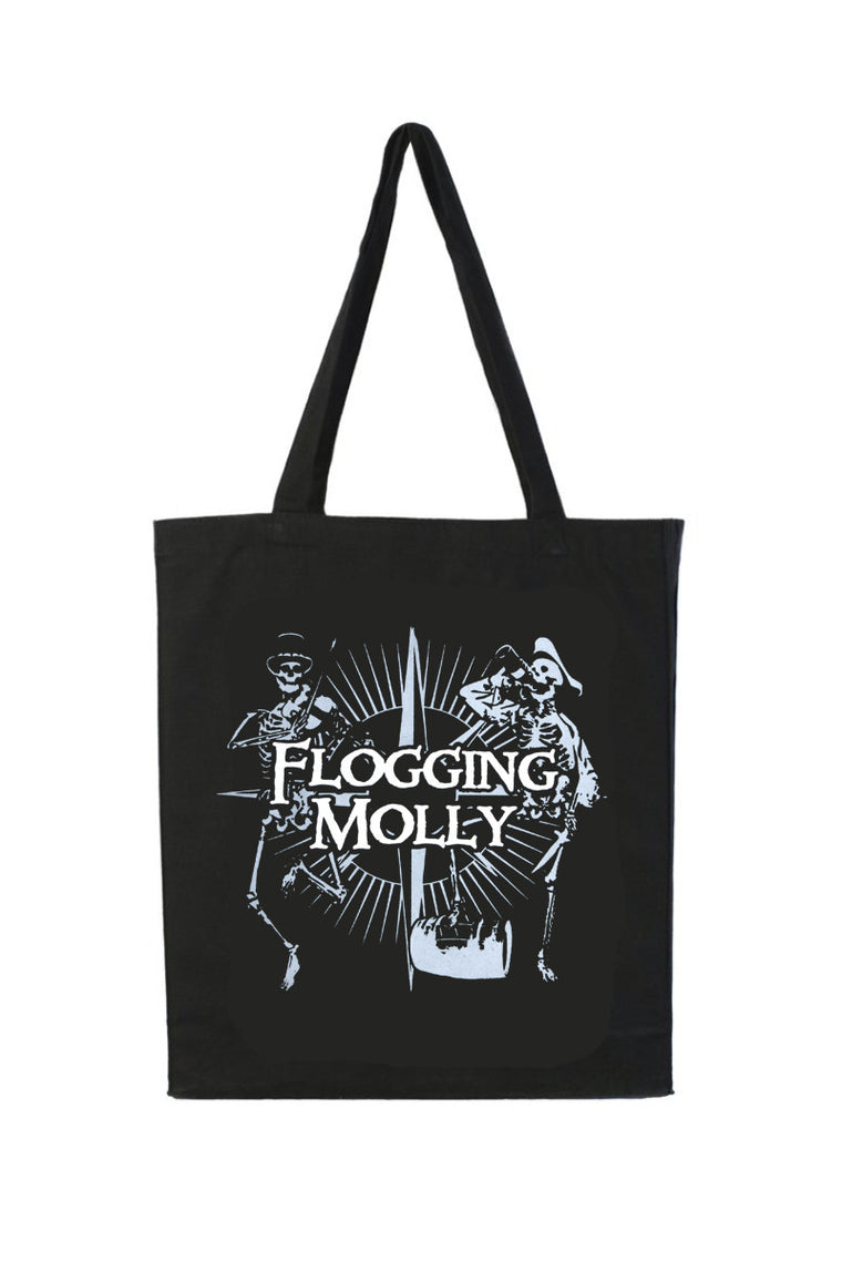 Flogging Molly Dead Pirate Tote Black