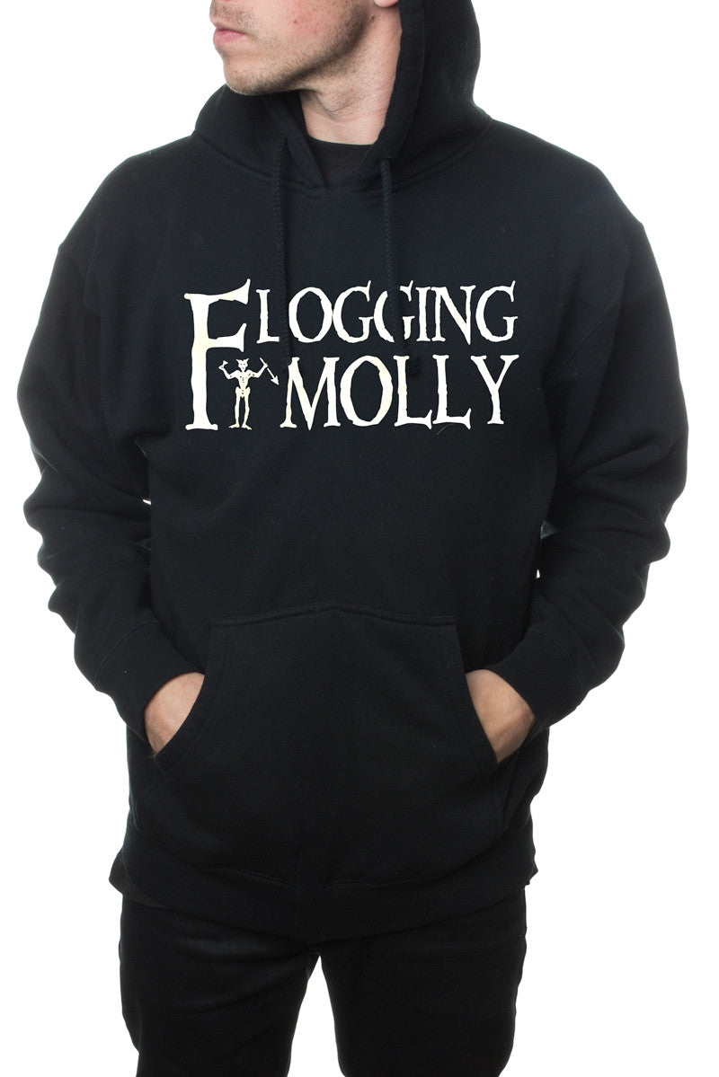 Flogging Molly Devil Pullover Hoodie Black