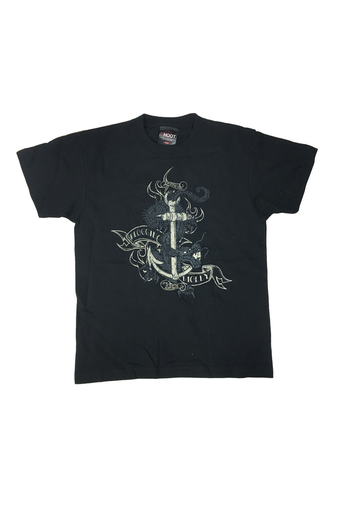 Flogging Molly Dragon Anchor Kids Tee Black