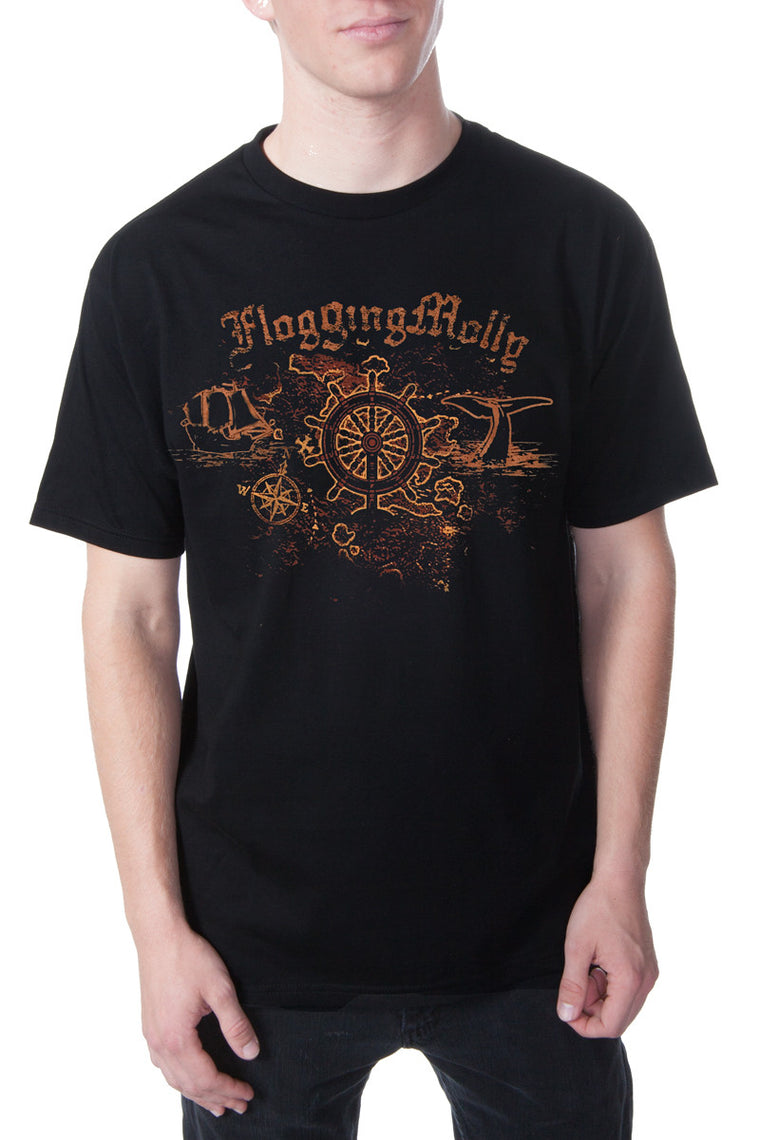 Flogging Molly High Seas Tee Black