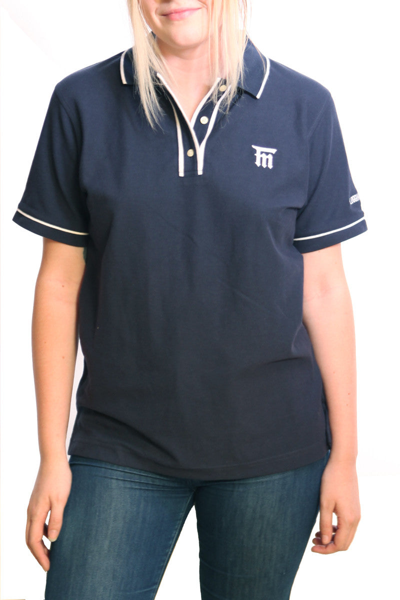 Flogging Molly Monogram Polo Tee Navy