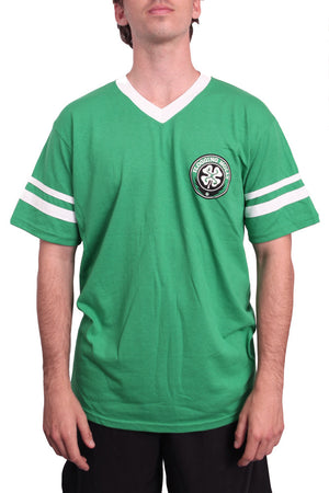 Flogging Molly Shamrock Soccer Tee Kelly Green