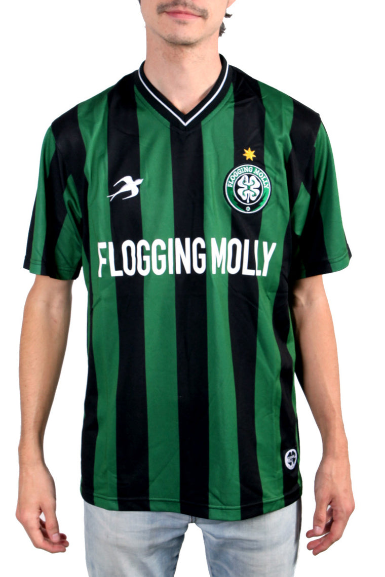 Flogging Molly Soccer Jersey Green/Black