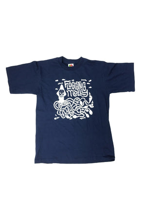 Flogging Molly Squid Kids Tee Navy