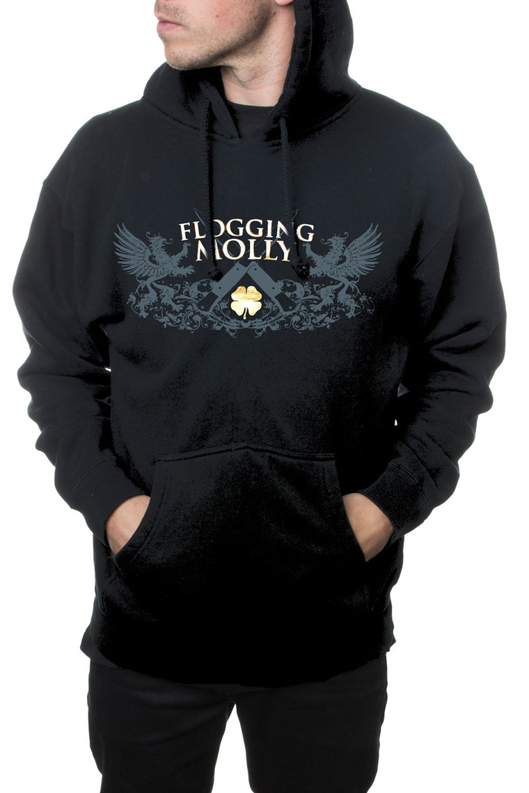 Flogging Molly Switchblade Pullover Hoodie Black