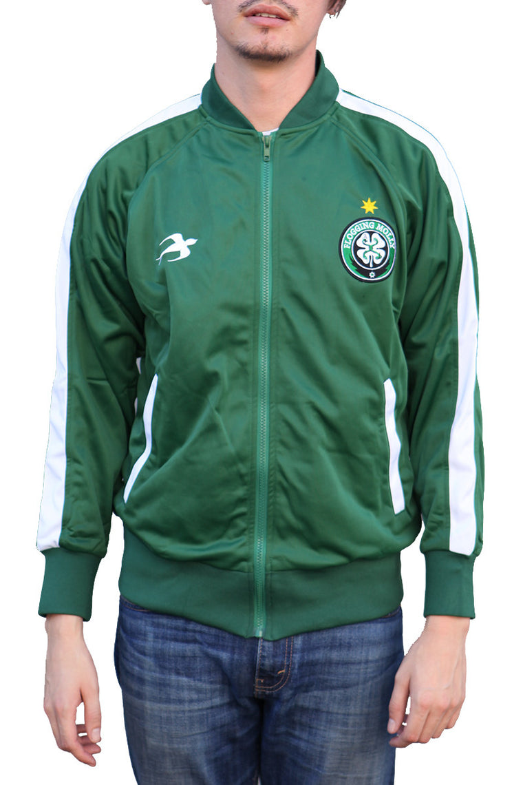 Flogging Molly Track Jacket Green