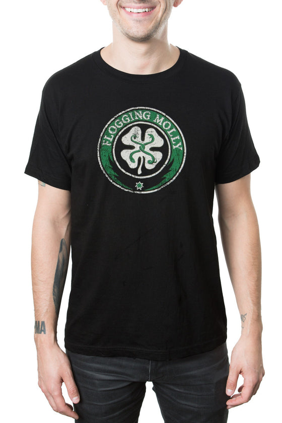 Flogging Molly Classic Logo Tee Black